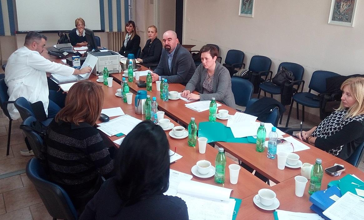 Audit timovi: KBC Rijeka i Služba za kvalitetu i edukaciju Agencije (KBC Rijeka, 21. - 22. 12.2016.)