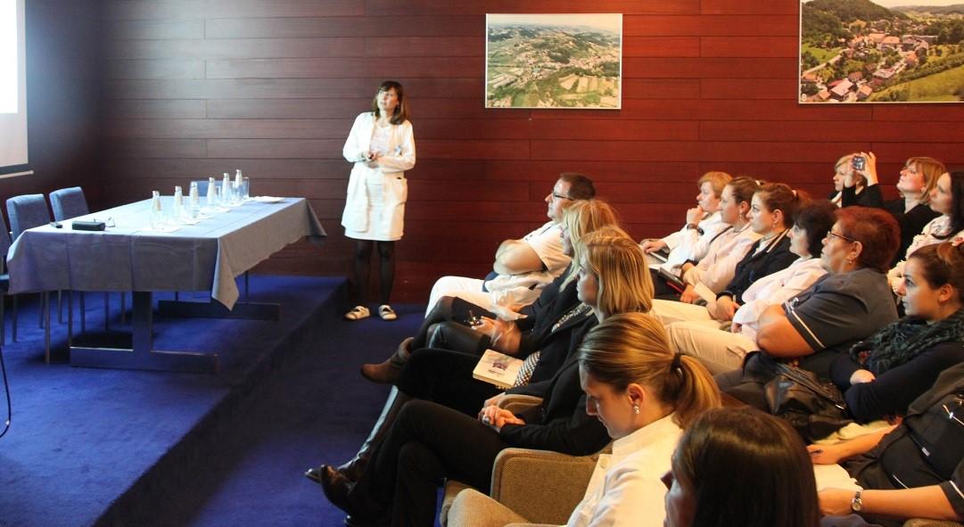 Dr. Darija Granec, pomoćnica ravnatelja za kvalitetu SB za medicinsku rehabilitaciju Krapinske Toplice