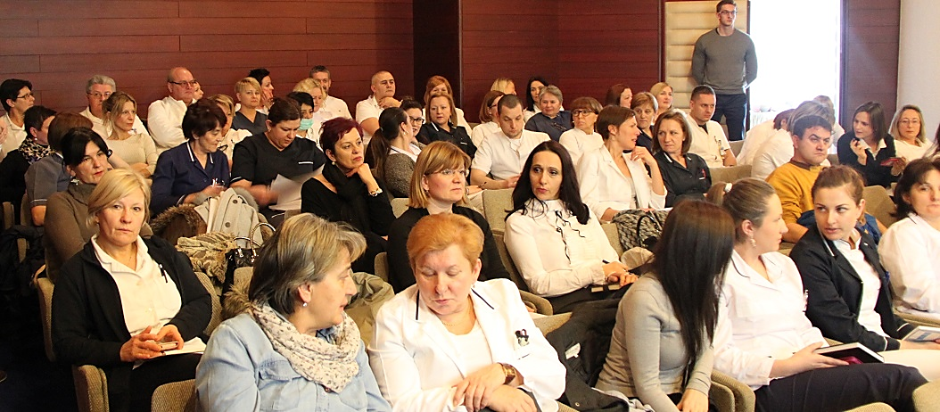 """Sudionici radionice """"Sustav kvalittete u zdravstvenim ustanovama"""", Krapinske Toplice 31. siječnja 2017."""